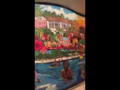 Murial at Barbados tourist authority