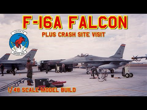 """Building AMTs 1/48th scale F-16A: """"The Crash of AZANG #80-0486"""""""