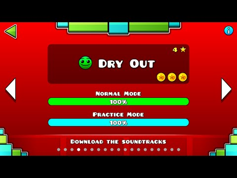 Geometry Dash - Dry Out All Coins