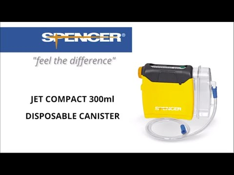 Jet Compact - Portable Suction Device