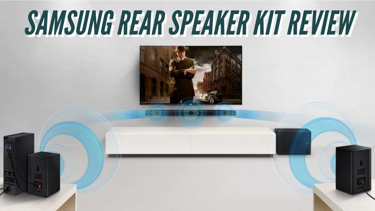 Samsung Wireless Rear Speaker Kit Swa 8500s Review Youtube