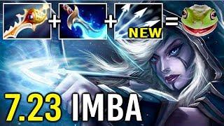 NEW IMBA 7.23 Divine Rapier Drow Ranger Multishot Mind Breaker is OP Epic Gameplay Crazy Meta Dota 2
