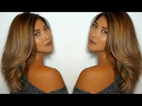 BEYONCE INSPIRED BLONDE OMBRE HAIR COLOR ON DARK HAIR // ROSS KWAN
