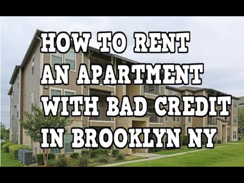 how to rent an apartment with bad credit in brooklyn new york youtube. Black Bedroom Furniture Sets. Home Design Ideas
