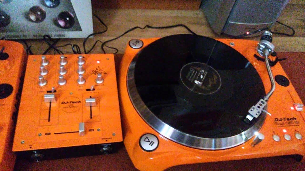 DJ TECH Vinyl Usb 20 Set