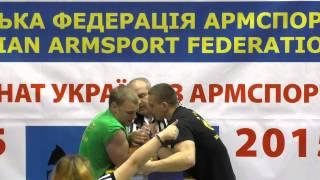 Несколько финалов Чемпионат Украины армспорт юноши правая рука 30.04.15