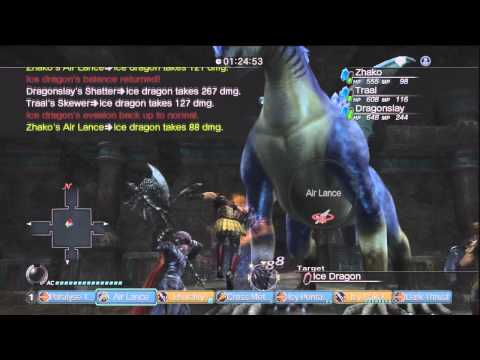 White Knight Chronicles [HD] - GR9 Quest: King of Dragons II Online A Rank Part 1