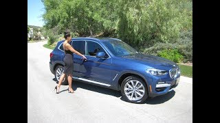 2019 BMW X3 sDrive 30i / BEST Value BMW Ever!! / BMW Review