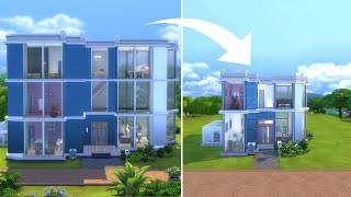 I rebuilt EA's houses in The Sims... but tiny
