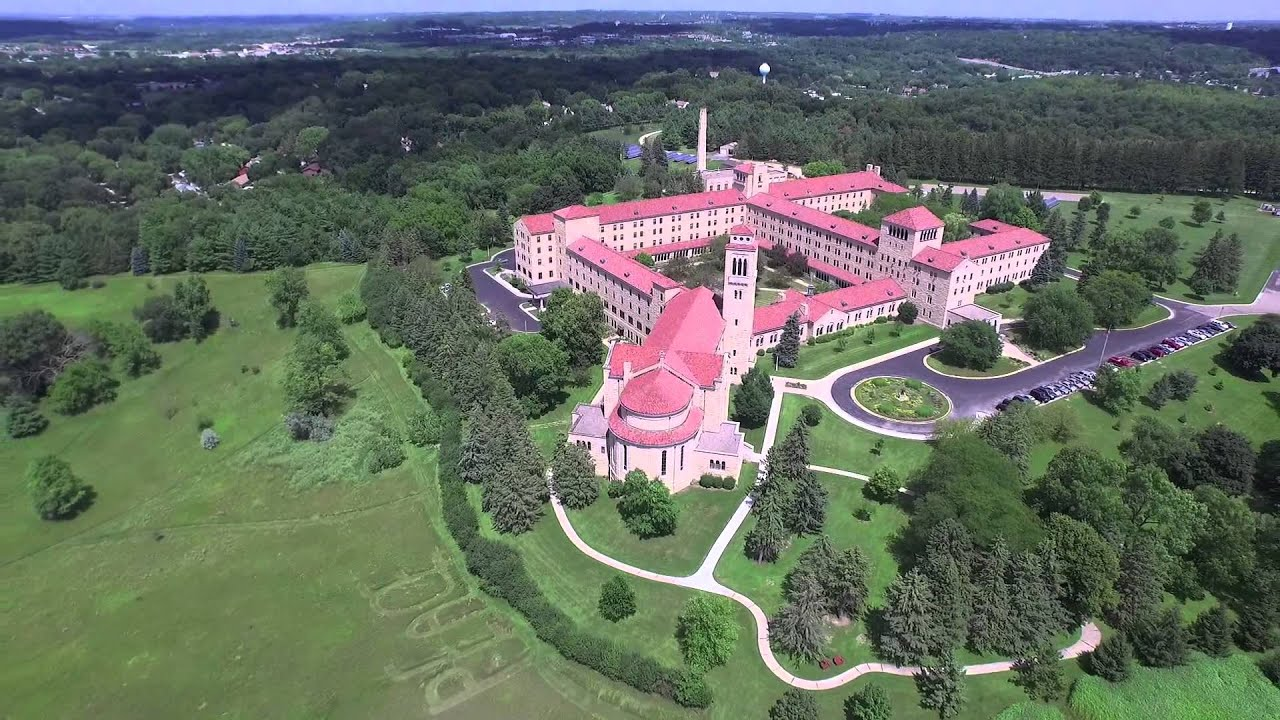 Assisi Heights Aerial Tour Rochester Minnesota YouTube