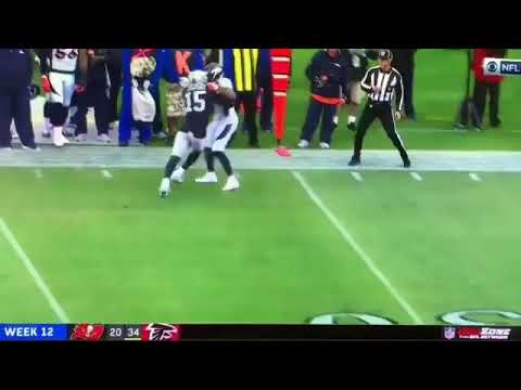 FIGHT! Broncos Vs Raiders! Micheal Crabtree vs Aqib Talib! PUNCHES THROWN