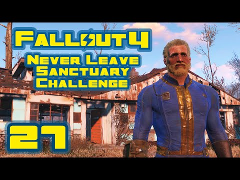 Let's Play Fallout 4: Never Leave Sanctuary Challenge - Part 27 - Shooting Gallery [Finale]
