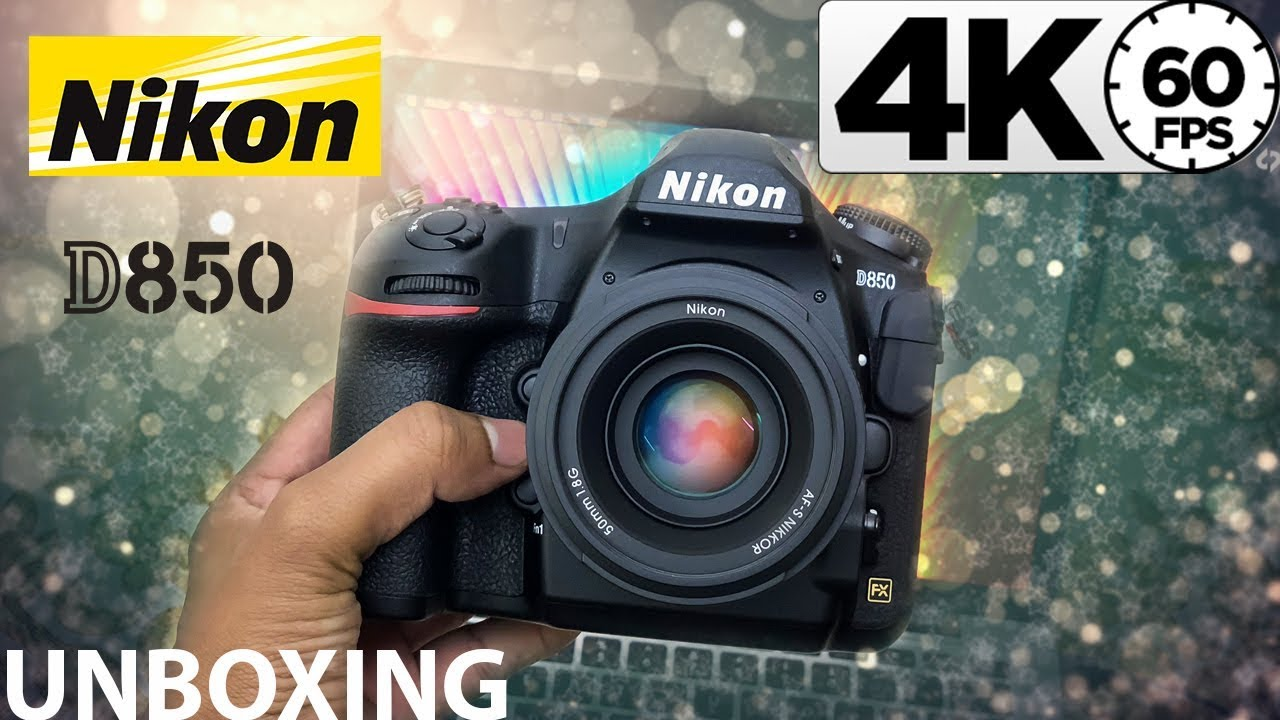 Nikon D850 + 50mm F1 8 Unboxing - Biggest Camera Update In My Life!!!   In