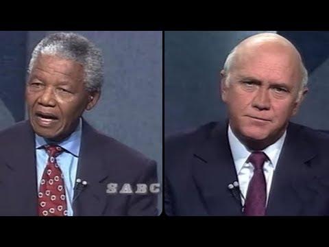 De Klerk, Mandela pre-election debate rebroadcast, 14 April 2019