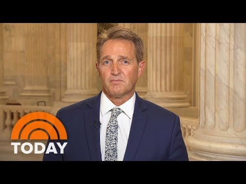 Sen. Jeff Flake Criticizes President Trump, Future Of The GOP: 'We've Got To Change Course' | TODAY