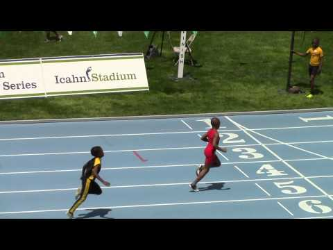 Rayan Porter- 7/8 boys 200m - Icahn Stadium NY -Youth Challenge Series Meet 3