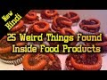 [हिन्दी] 25 Weird Things Found Inside Food Products In Hindi | McDonald Pepsi Subway Burger KFC