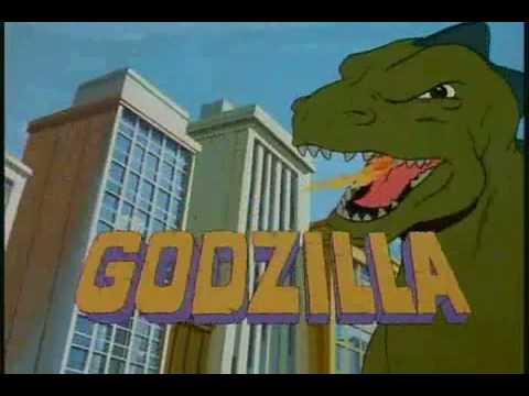 GODZILLA Cartoon Intro