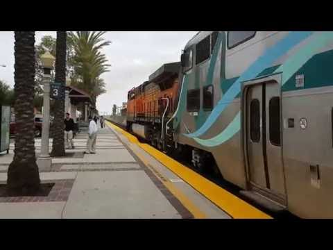 892 & 5626 leaving Fullerton on train 600 from Los Angeles - Oceanside