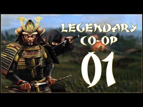 A FAST START - Oda & Hattori (Legendary Co-Op) - Total War: Shogun 2 - Ep.01!
