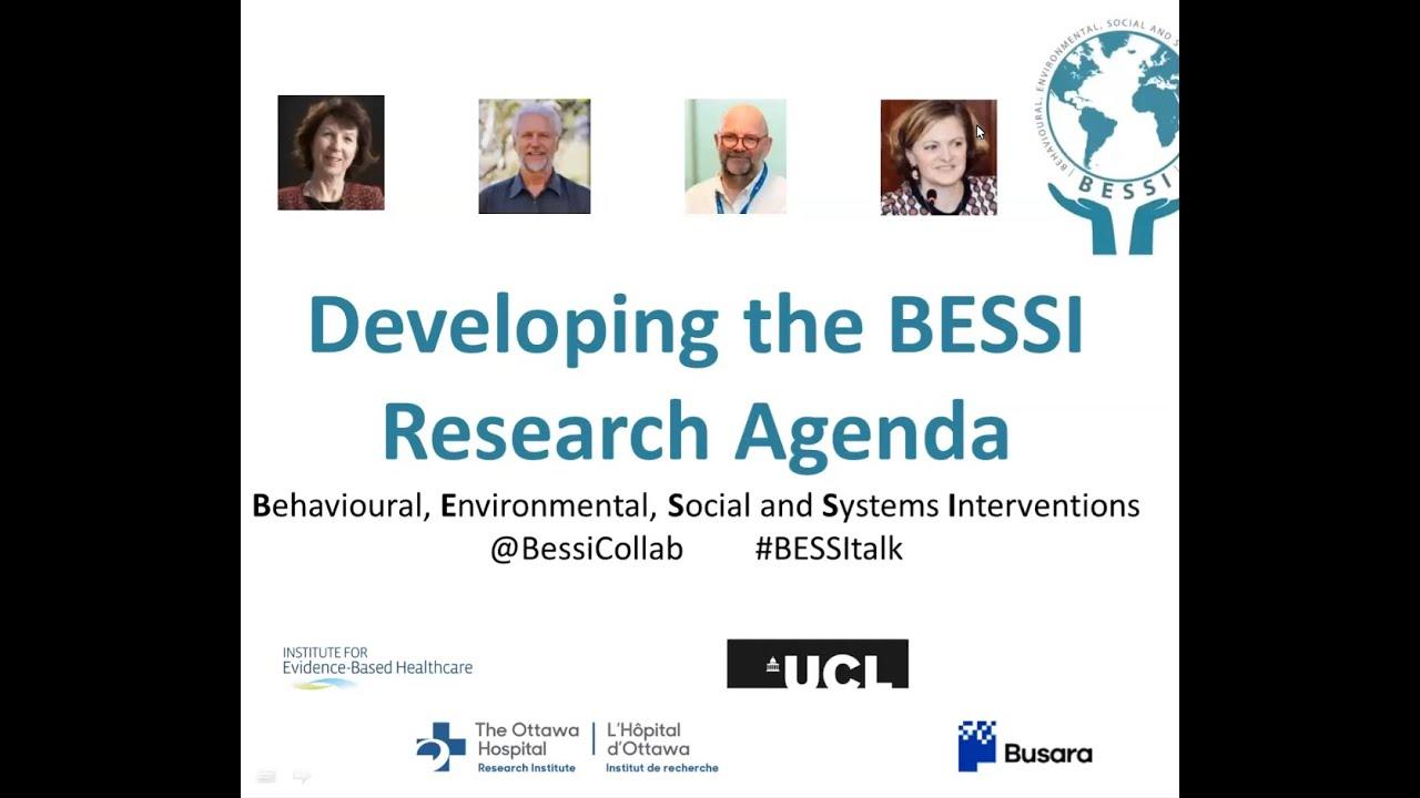 Developing the BESSI Research Agenda: 3 June 2021