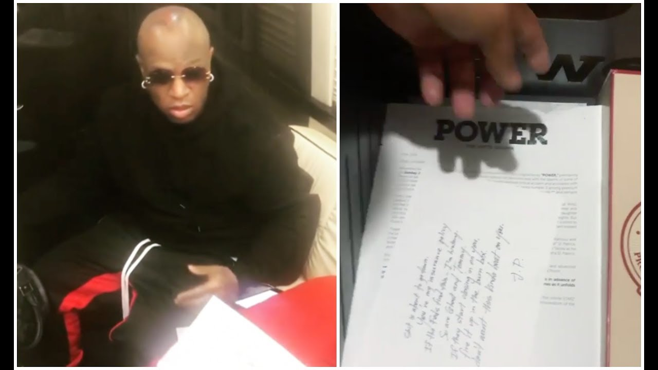 "Birdman Unboxes ""Power"" Gift Bag Sent From 50 Cent"