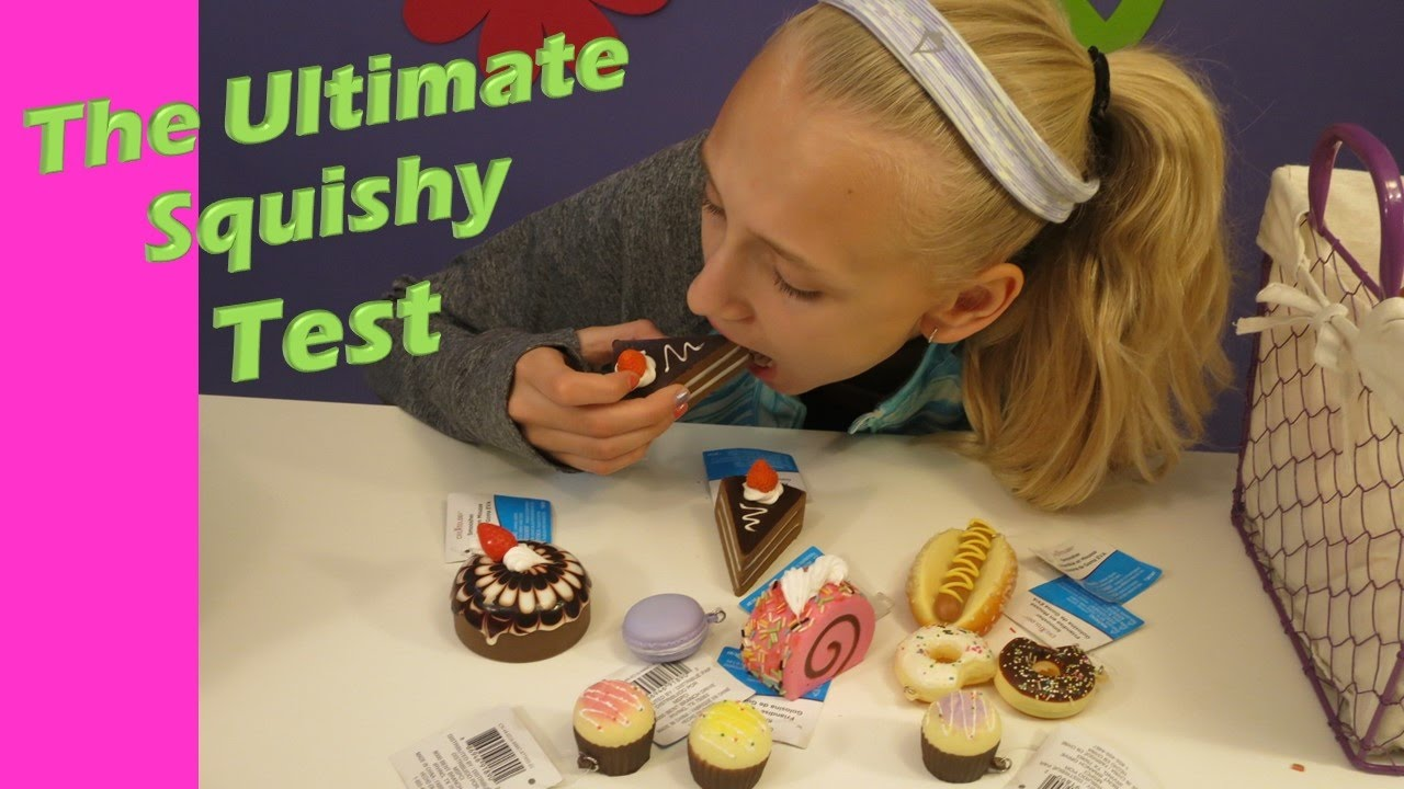 Squishy Quiz : Ultimate Squishy test. Testing Squishies from Michael s. - YouTube