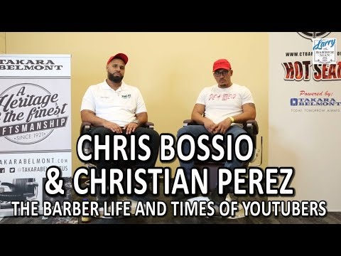 Chris Bossio & Christian Perez's Interview With Larry The Barberman