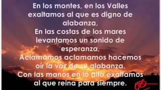 En Los Montes, En Los Valles con Letra   Marcos Witt con Fun