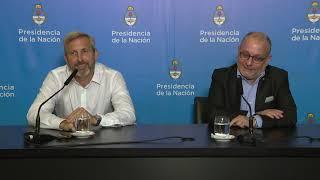 Declaraciones a la prensa de los ministros Rogelio Frigerio y Jorge Faurie