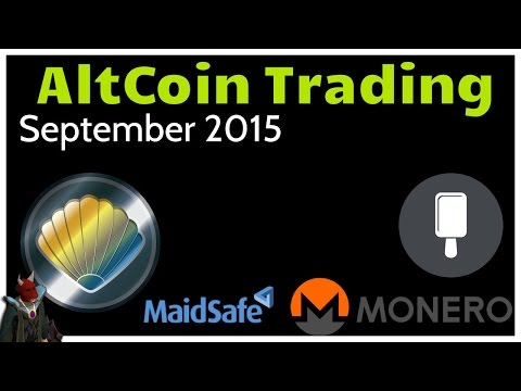 Cryptocurrency Trading - September 2015
