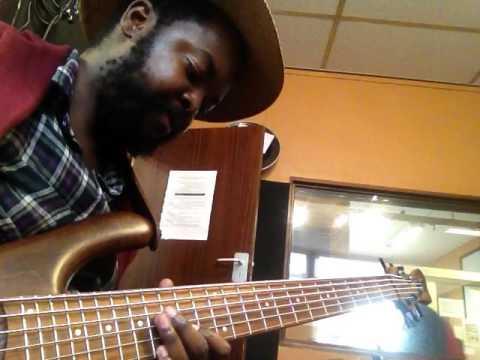 """Vuyo Manyike ,Sphelelo Mazibuko rehearsing Sbusiso Dlamini""""s music"""