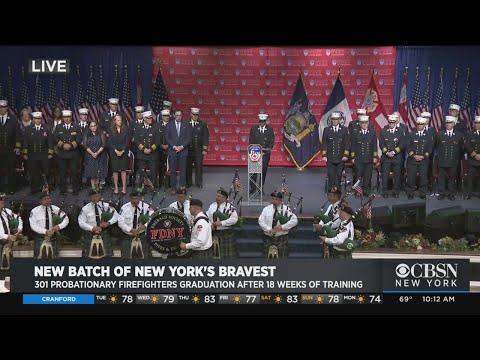 Web Extra: FDNY Graduates Latest Class Of Firefighters