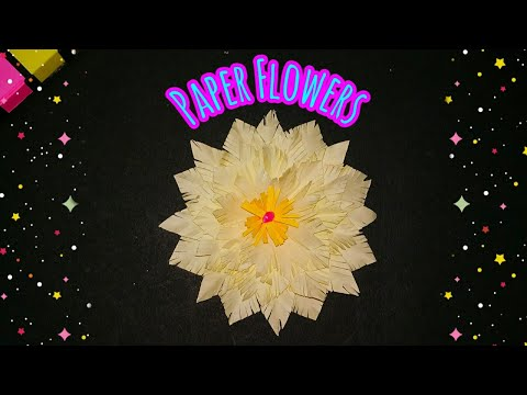 PRETTY FLOWER IDEAS | DIY Paper Flowers | How to Make Beautiful Flower with Paper | sweety trendzzz