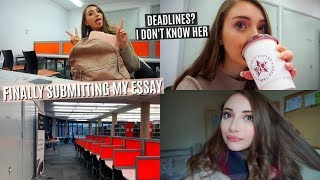 WHAT AM I GOING TO DO AFTER UNI? & LATE NIGHT LIBRARY SESSIONS   UNI VLOG