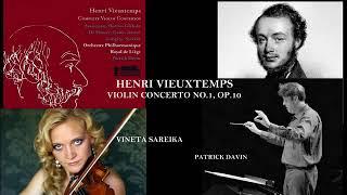 Henri Vieuxtemps: Concerto pour violon no.1, op. 10, en mi majeur, Vineta Sareika (violin)