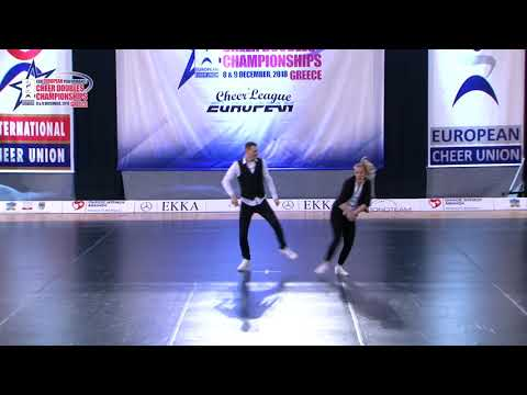 39 SENIOR DOUBLE CHEER HIP HOP Aafjes   Assink DCA NETHERLAND