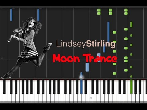 Lindsey Stirling - Moon Trance [Easy Synthesia Tutorial]