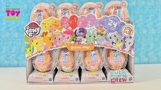 My Little Pony Beach Day Series 4 MLP Cutie Mark Crew Toy Unboxing | PSToyReviews