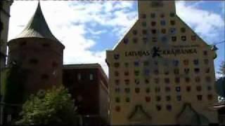 Les monuments de Riga capitale de la Lettonie