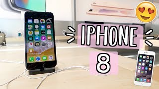 Seeing the iPhone 8 in Person!! Alisha Marie
