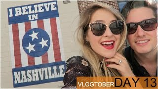 Off to NASHVILLE! Vlogtober 13