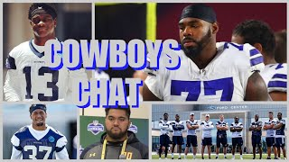 COWBOYS CHAT: Gallup Signs; Salary Cap Update; Tyron Smith Speaks; UDFA's Add Youth; OTA's Begin!!!