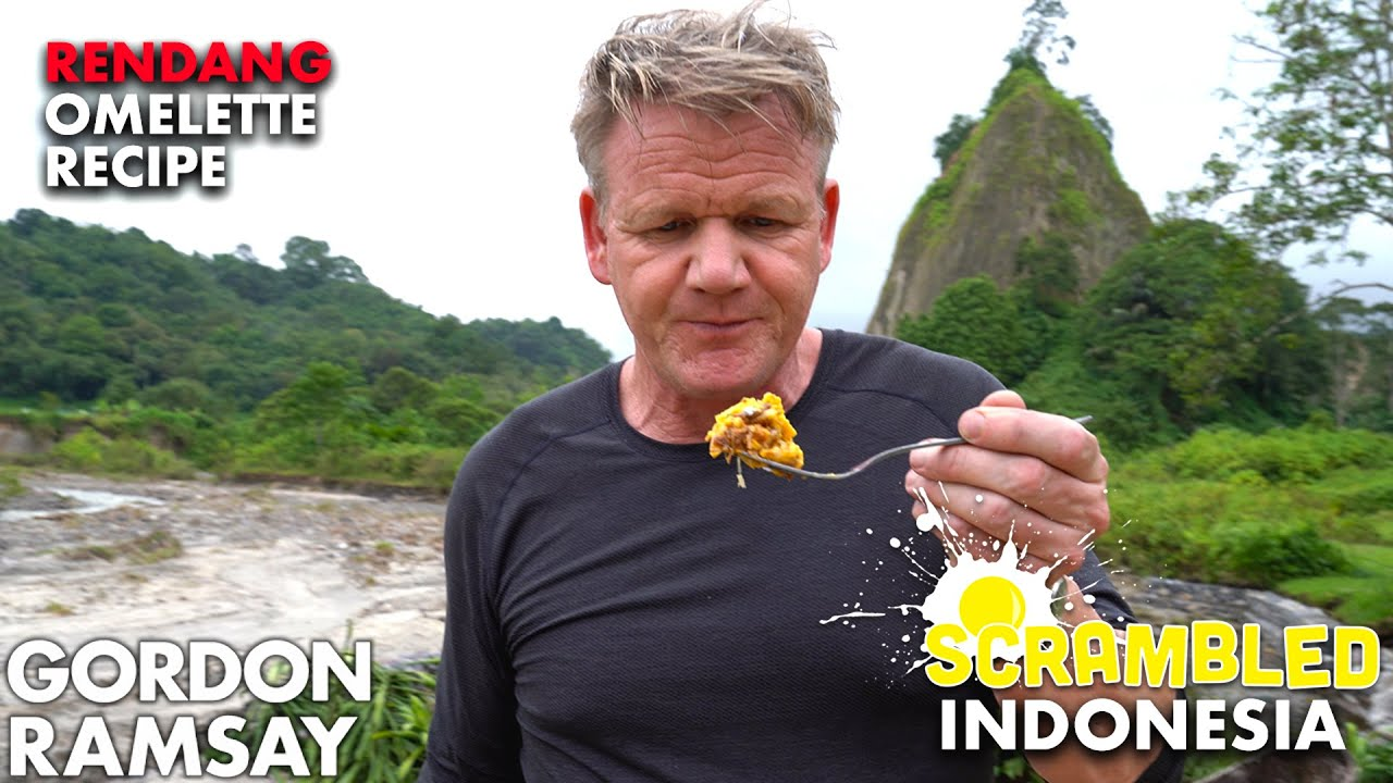 Download Gordon Ramsay Turns Rendang Into an Omelette in Indonesia | Scrambled