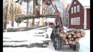 ATV форвардер с краном манипулятором(, 2014-03-26T01:59:24.000Z)