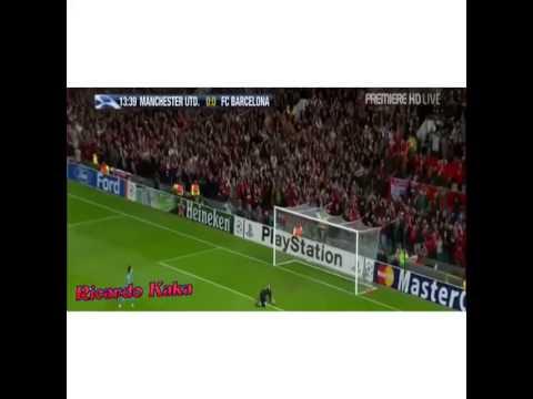 Paul Scholes goal vc Barcelona
