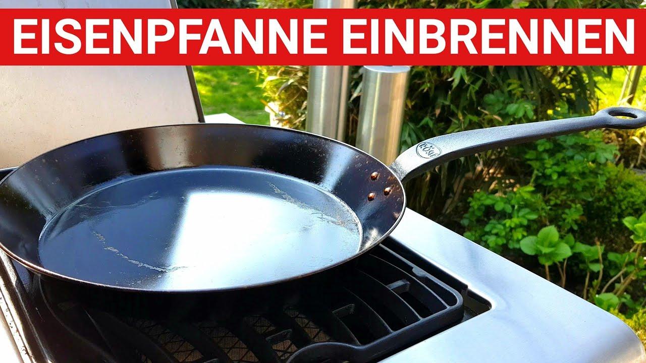 Weber Holzkohlegrill Einbrennen : ♨ grillblitz eisenpfanne einbrennen perfekt erster gebrauch