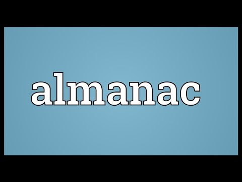 Almanac Meaning