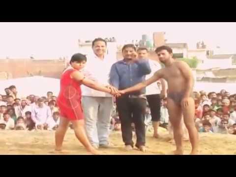 Babita Phogat Fighting with Man | Dangal | Mahavir Singh Phogat |  Babita Phogat