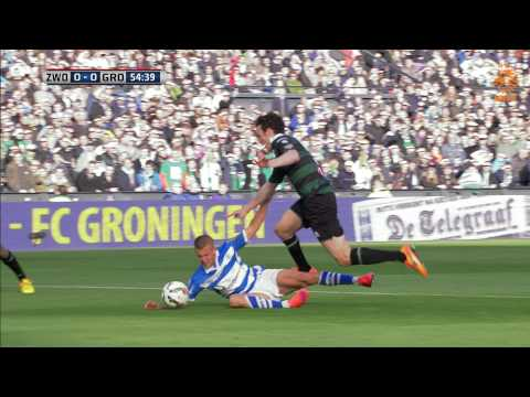 Samenvatting PEC Zwolle - FC Groningen 0-2, KNVB bekerfinale 2014/15